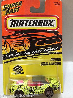 (TAS008944) - Matchbox Die-Cast Cars - Dodge Challenger, , Cars, Matchbox, The Angry Spider Vintage Toys & Collectibles Store