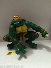 (TAS006278) - TMNT Teenage Mutant Ninja Turtles Topper Figure - Michaelangelo, , Action Figure, n/a, The Angry Spider Vintage Toys & Collectibles Store