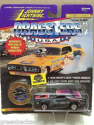 (TAS008738) - Johnny Lightning Dragsters U.S.A. - Big Daddy Don Garlits, , Trucks & Cars, Johnny Lightning, The Angry Spider Vintage Toys & Collectibles Store