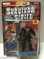 (TAS006297) - Jakks Pacific WWF WCW Survivor Series Figure - The Rock, , Action Figure, Wrestling, The Angry Spider Vintage Toys & Collectibles Store