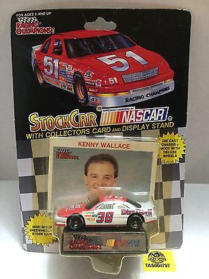 (TAS004797) - Racing Champions StockCar Nascar - Kenny Wallace #36, , Other, Varies, The Angry Spider Vintage Toys & Collectibles Store