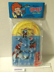 "(TAS030531) - Fun n' Games ""Join Me!"" Pinball Game - Hockey, , Game, NHL, The Angry Spider Vintage Toys & Collectibles Store"