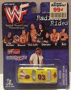 (TAS000041) - 1999 WWF Radical Rides Diecast Replica - Mankind, , Cars, WWF, The Angry Spider Vintage Toys & Collectibles Store  - 1