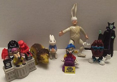 (TAS009125) - Mixed Action Figure Lot - Arthur, Lion, DJ Mouse, Raisin, Bunny, , Action Figure, Varies, The Angry Spider Vintage Toys & Collectibles Store