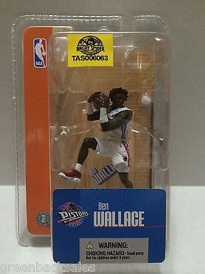 (TAS006063) - McFarlane Toys NBA Mini Basketball Figure - Ben Wallace, , Action Figure, NBA, The Angry Spider Vintage Toys & Collectibles Store