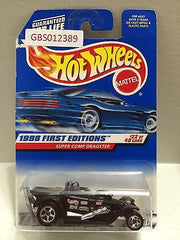 (TAS030875) - Mattel Hot Wheels Car - Super Comp Dragster, , Cars, Hot Wheels, The Angry Spider Vintage Toys & Collectibles Store