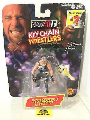 (TAS005210) - WWE WWF NWO WCW Wrestling Keychain Wrestlers - Hollywood Hogan, , Keychain, Wrestling, The Angry Spider Vintage Toys & Collectibles Store