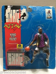(TAS008266) - Shaq Attack King of the Paint Basketball Figure, , Action Figure, NBA, The Angry Spider Vintage Toys & Collectibles Store