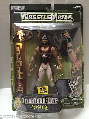 (TAS006215) - 2000 Jakks WWF WWE WrestleMania Figure - TitanTron Live X-Pac, , Action Figure, Wrestling, The Angry Spider Vintage Toys & Collectibles Store