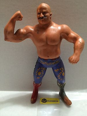 "(TAS000629) - WWE WWF WCW Wrestling LJN 8"" Action Figure - The Iron Sheik, , Sports, WWF, The Angry Spider Vintage Toys & Collectibles Store"
