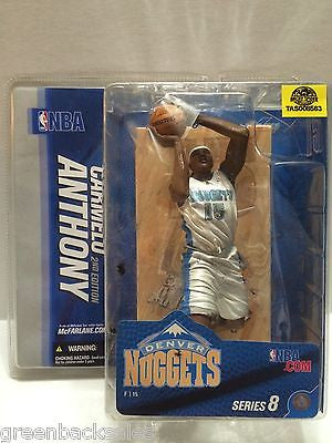 (TAS008563) - McFarlane Toys Action Figure - NBA Denver Nuggets Carmelo Anthony, , Action Figure, NBA, The Angry Spider Vintage Toys & Collectibles Store