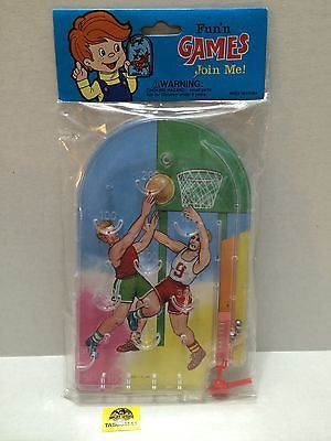 "(TAS004143) - Fun N' Games ""Join Me"" Basketball Pinball Game, , Game, n/a, The Angry Spider Vintage Toys & Collectibles Store"