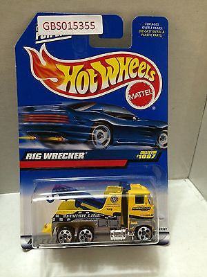 (TAS031017) - Mattel Hot Wheels Car - Rig Wrecker, , Cars, Hot Wheels, The Angry Spider Vintage Toys & Collectibles Store