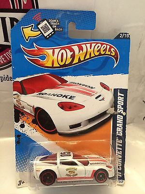 (TAS004407) - Hot Wheels '11 Corvette Grand Sport HW Main Street '12 - 2/10, , Cars, Hot Wheels, The Angry Spider Vintage Toys & Collectibles Store
