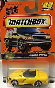 (TAS031536) - Matchbox Toy Car - Dodge Viper, , Cars, Matchbox, The Angry Spider Vintage Toys & Collectibles Store