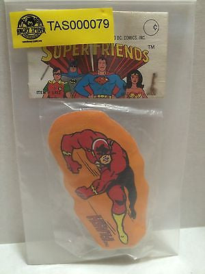(TAS000079) - Super Friends DC Comics - Flash Pencil Sharpener, , Pencil, DC Comics, The Angry Spider Vintage Toys & Collectibles Store