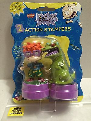 (TAS003589) - Nickelodeon Rugrats - 2 Action Stampers, , Stampers, Nickelodeon, The Angry Spider Vintage Toys & Collectibles Store