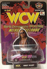 (TAS008838) - 1998 Racing Champions WCW Nitro-Street Rod Car - Bret Hart, , Diecast-Modern Manufacture, Racing Champions, The Angry Spider Vintage Toys & Collectibles Store  - 1