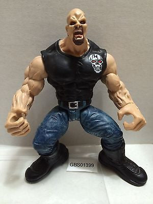 (TAS031260) - WWF Jakks Wrestling Maximum Sweat Figure - Stone Cold Steve Austin, , Action Figure, Wrestling, The Angry Spider Vintage Toys & Collectibles Store