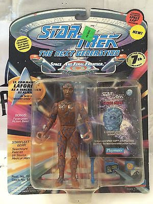 (TAS001087) - Playmates Star Trek Lt. Commander La Forge as Tarchannen III Alien, , Action Figure, Star Trek, The Angry Spider Vintage Toys & Collectibles Store