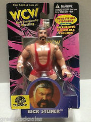 (TAS008311) - WCW WWE WWF Wrestling Authentic Poseable Figures - Rick Steiner, , Action Figure, Wrestling, The Angry Spider Vintage Toys & Collectibles Store