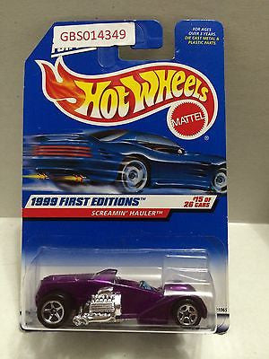 (TAS030976) - Hot Wheels 1999 First Editions 15/26 Screamin' Hauler, , Cars, Hot Wheels, The Angry Spider Vintage Toys & Collectibles Store