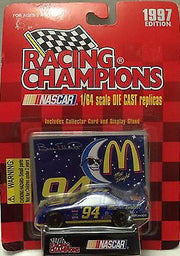 (TAS031683) - 1997 Racing Champions Die-Cast Car - Bill Elliott #94 McDonalds, , Trucks & Cars, Nascar, The Angry Spider Vintage Toys & Collectibles Store