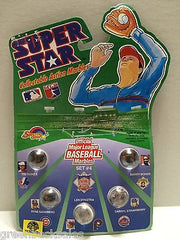 (TAS007004) - 1990 Spectra Star Super Star Baseball Marbles - Set #4, , Marbles, Spectra Star, The Angry Spider Vintage Toys & Collectibles Store