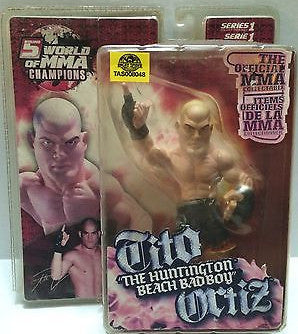 (TAS008048) - Round 5 MMA Series 1 Figure - UFC Tito Ortiz, , Action Figure, Round 5, The Angry Spider Vintage Toys & Collectibles Store