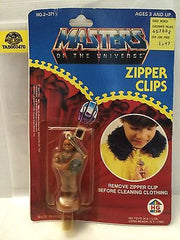 (TAS003470) - 1984 Masters Of The Universe (He-Man) (MOTU) Mattel - Zipper Clips, , TV, Movie & Video Games, MOTU, The Angry Spider Vintage Toys & Collectibles Store  - 2