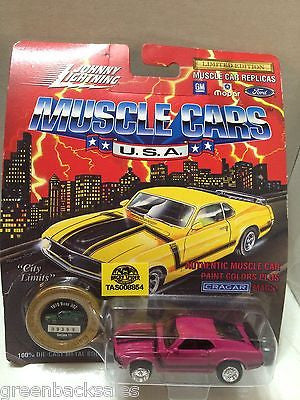 (TAS008854) -  Johnny Lightning Muscle Cars - 1970 Boss 302, , Trucks & Cars, Johnny Lightning, The Angry Spider Vintage Toys & Collectibles Store