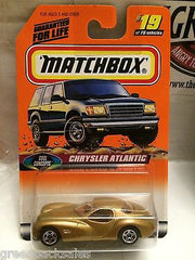 (TAS031541) - Matchbox Toy Car - Chrysler Atlantic, , Cars, Matchbox, The Angry Spider Vintage Toys & Collectibles Store