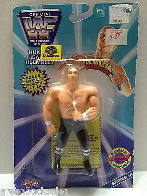 (TAS008363) - WWF Wrestling JusToys Bend-Ems Figure - Hunter Hearst-Helmsley HHH, , Action Figure, Wrestling, The Angry Spider Vintage Toys & Collectibles Store