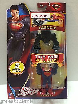 (TAS031650) - DC Comics Quick Shots Superman Man of Steel Figure - Superman, , Action Figure, Superman, The Angry Spider Vintage Toys & Collectibles Store