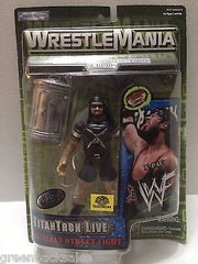 (TAS006244) - 2000 Jakks WWF WrestleMania Back Alley Street Fight Figure - X-Pac, , Action Figure, Wrestling, The Angry Spider Vintage Toys & Collectibles Store