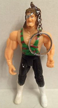 (TAS000777) - WWE WCW WWF Wrestling Key Chain - Generic Wrestler Rhyno, , Keychain, Wrestling, The Angry Spider Vintage Toys & Collectibles Store