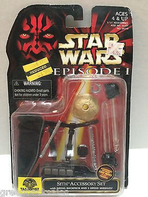 (TAS008157) - Hasbro Star Wars Episode 1 - Sith Accessory Set, , Action Figure, Star Wars, The Angry Spider Vintage Toys & Collectibles Store