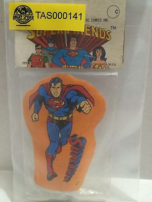(TAS000141) - Super Friends DC Comics - Superman Pencil Sharpener, , Pencil, DC Comics, The Angry Spider Vintage Toys & Collectibles Store