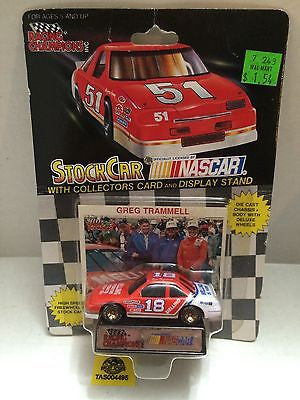(TAS004495) - Racing Champions StockCar Nascar - Greg Trammell #18, , Other, Varies, The Angry Spider Vintage Toys & Collectibles Store