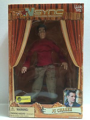 (TAS000611) - N'Sync Collectible Marionette - Living Toyz - JC Chasez, , Action Figure, n/a, The Angry Spider Vintage Toys & Collectibles Store