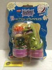(TAS000083) - Nickelodeon Rugrats - 2 Action Stampers, , Stampers, Nickelodeon, The Angry Spider Vintage Toys & Collectibles Store