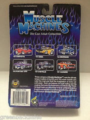 (TAS010246) - 2000 Muscle Machines Die Cast Collectible Car - '67 Nova, , Trucks & Cars, Muscle Machines, The Angry Spider Vintage Toys & Collectibles Store  - 2