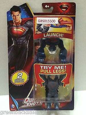 (TAS031648) - DC Comics Quick Shots Superman Man of Steel Figure - General Zod, , Action Figure, Superman, The Angry Spider Vintage Toys & Collectibles Store