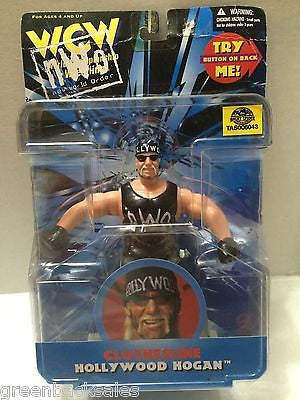 (TAS006043) - WWE WWF WCW nWo Wrestling Figure - Clothesline Hollywood Hogan, , Action Figure, Wrestling, The Angry Spider Vintage Toys & Collectibles Store