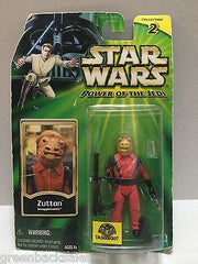 (TAS008307) - Hasbro Star Wars Power of the Jedi Action Figure - Zutton, , Action Figure, Star Wars, The Angry Spider Vintage Toys & Collectibles Store