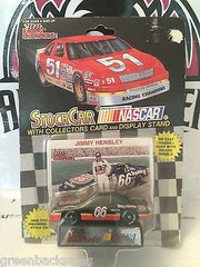 (TAS030482) - 1992 Racing Champions Die-Cast Stock Car - Jimmy Hensley, , Trucks & Cars, NASCAR, The Angry Spider Vintage Toys & Collectibles Store