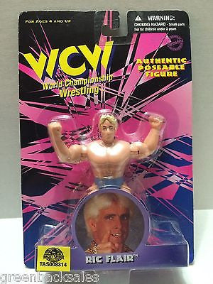 (TAS008314) - TOSFTM WCW Wrestling Authentic Poseable Figures - Ric Flair, , Action Figure, Wrestling, The Angry Spider Vintage Toys & Collectibles Store