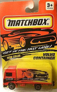 (TAS004608) - Matchbox Toy Car - Volvo Container, , Cars, Matchbox, The Angry Spider Vintage Toys & Collectibles Store