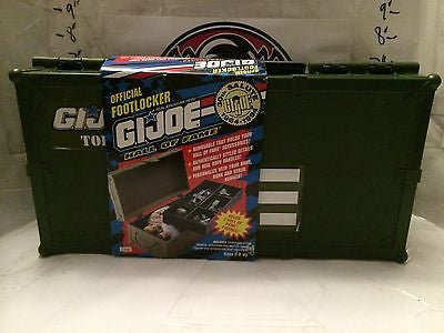 (TAS004794) - Official Footlocker G.I. Joe Hall of Fame Cases - Holds 2 Figures, , Other, G.I. Joe, The Angry Spider Vintage Toys & Collectibles Store