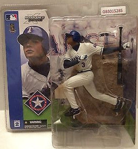 (TAS031751) - McFarlane Sportspicks - Alex Rodriguez #3 Texas Rangers, , Action Figure, MLB, The Angry Spider Vintage Toys & Collectibles Store
